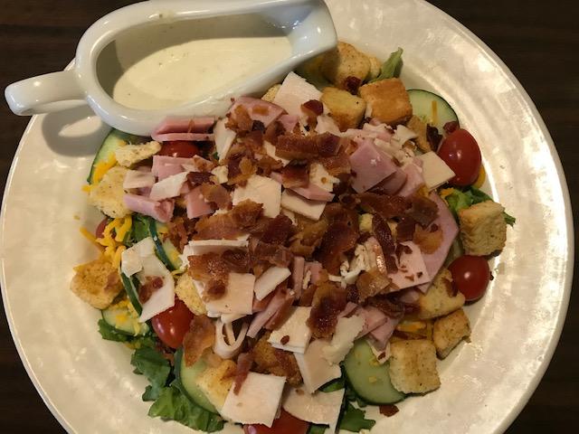 Barnstormer's Club Salad